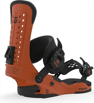 Union Force Snowboard Bindings, L Burnt Orange 2020