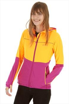 Kilpi Womens Joshua Softshell Jacket, UK 12 Orange/Purple