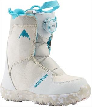 Burton Grom Boa Kid's Snowboard Boots, UK 12K White 2020