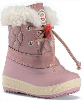 Olang Ape Kids Winter Snow Boots, UK Child 6/6.5 Powder Pink