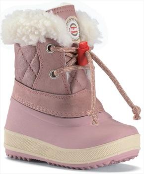 Olang Ape Kids Winter Snow Boots, UK Child 7.5/8.5 Powder Pink