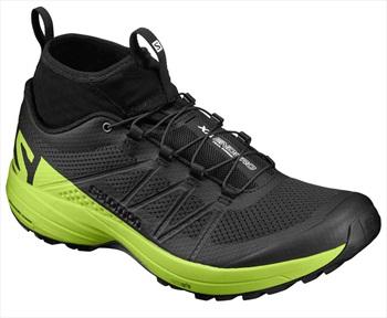 Salomon XA Enduro Men's Running Shoe UK 7 Black/Lime