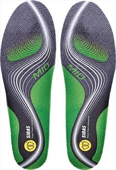 Sidas 3Feet Activ' Mid Running Insoles, XL Green