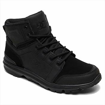 DC Adult Unisex Torstein Men's Winter Boots, UK 8 All Black