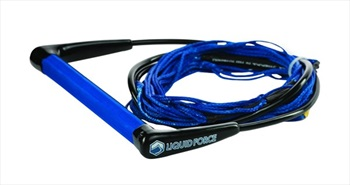 Liquid Force Comp Wakeboard Handle With Dyneema Line, 65' Main Blue
