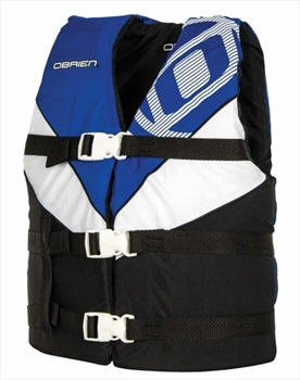 O'Brien Teen | Youth Nylon Watersports Life Jacket, Youth Blue