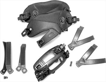 Flow Hybrid Strap Convert Kit Spare Snowboard Binding Straps, L/XL