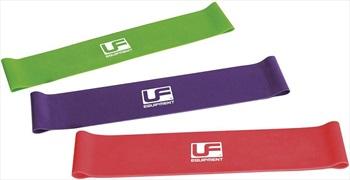Urban Fitness Equipment Resistance Medium Loop Band, Red