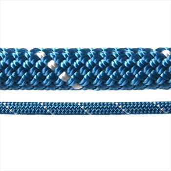 Edelweiss Rocklight II Rock Climbing Rope: 9.8mm X 30m, Blue & Yellow
