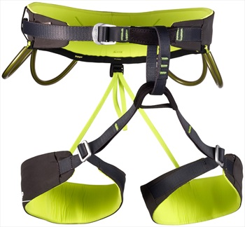 CAMP Energy Rock Climbing Harness, S, Grey/Green