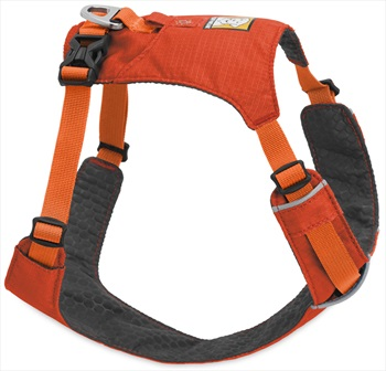 Ruffwear Hi & Light Harness Active Dog Harness - L / XL, Sockeye Red