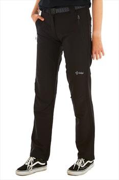Kilpi Zaria Women's Outdoor Trousers - UK 10S | EU 38S, Black