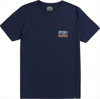 Animal Heritage Short Sleeve Graphic T-Shirt, L Indigo Blue