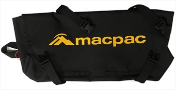 Macpac Crampon Bag Climbing Accessory Bag, One Size Black