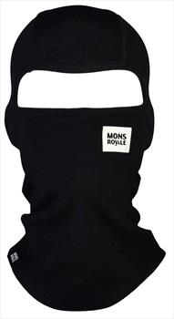 Mons Royale Cold Days Merino Balaclava, One Size Black