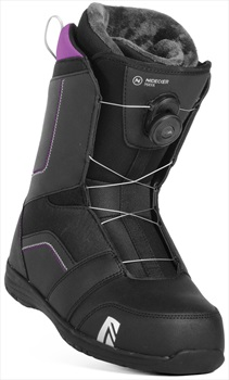Nidecker Maya Boa Women's Snowboard Boots, UK 4.5 Black 2019