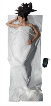 Cocoon TravelSheet Cotton Lightweight Sleeping Bag Liner, Off White