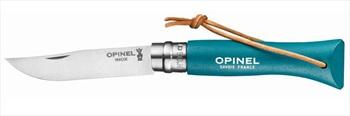 Opinel No.6 Bushwhacker Folding Pocket Knife, 7cm Turquoise