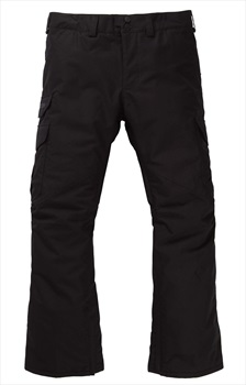 Burton Cargo Short Fit Snowboard/Ski Pants, S True Black 2020