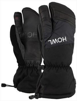 Howl Trigger Ski / Snowboard Mitts, M Black