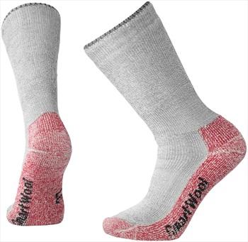 Smartwool Mountaineering Extra Heavy Crew Hiking Socks, 5-7.5 Grey