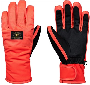 DC Franchise Women's Ski/Snowboard Gloves, L Coral