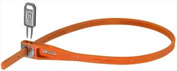 Hiplok Z Lok Steel Core Cable Tie Key Lock, 40cm Orange