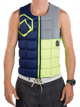 Liquid Force Flex Wakeboard Impact Vest, S Green Blu