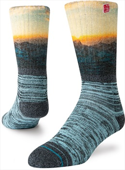 Stance Coming Home Outdoor Jimmy Chin Walking/Hiking Socks, L Black