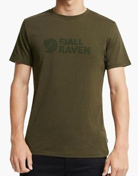 Fjallraven Logo Short Sleeve Graphic T-Shirt, XL Dark Olive