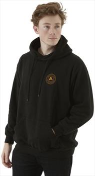 Absolute Snow Logo Pullover Hoodie, M Black