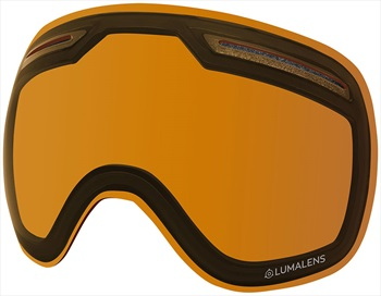 Dragon X1 Snowboard/Ski Goggle Spare Lens LumaLens Amber