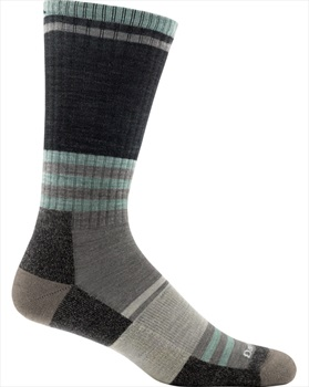 Darn Tough Spur Boot Light Cushion Hiking Socks, L Charcoal