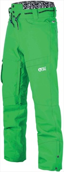 Picture Under Ski/Snowboard Pants, M Green