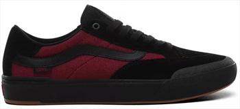Vans Elijah Berle Pro Skate Shoe, UK 8.5 Black/Beet Red