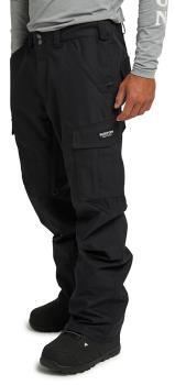 Burton Cargo Tall Fit Snowboard/Ski Pants XL True Black 2021
