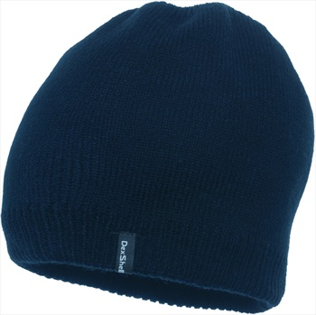 DexShell Solo Waterproof Beanie, One Size, Navy Blue