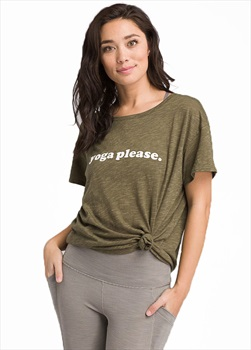 Prana Chez Women's Yoga Tee, UK 12 Cargo - Yoga Please