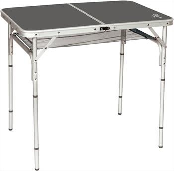 Bo-Camp Table Case Model Portable Folding Camp Table, Grey