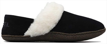 Sorel Nakiska II Women's Slippers, UK 4 Black/Natural