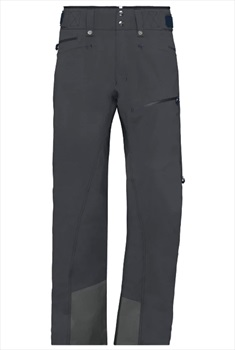 Norrona Roldal Gore-Tex Ski/Snowboard Pants, L Caviar Black