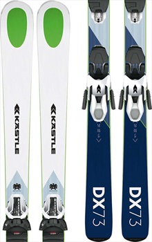 Kastle DX 73 K10 SLR GW Skis, 164cm Blue/White 2020