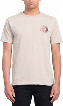 Volcom Adult Unisex Find Heather T-Shirt, XL Oatmeal
