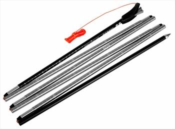 Mammut Probe 240 Fast Lock Avalanche Safety Probe, 240cm Neon Orange
