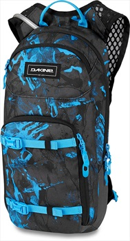 Dakine Session Hydration Backpack, 8L Cyan Scribble
