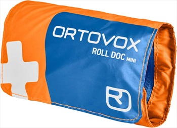 First Aid Roll Doc Mini First Aid Kit, One Size Shocking Orange