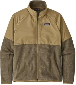 Patagonia Better Sweater Shelled Fleece Jacket, XL Classic Tan
