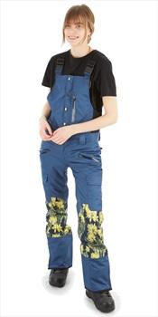 Saga Rogue Women's Bib Pants, M Denim