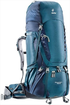 Deuter Aircontact 75 + 10 Expedition Backpack, 75 + 10L Midnight Navy