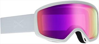 Anon Deringer Sonar Pink Women's Ski/Snowboard Goggles, M White